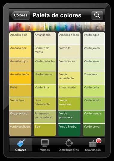 Aplicaci n bruguer - Paleta colores bruguer ...