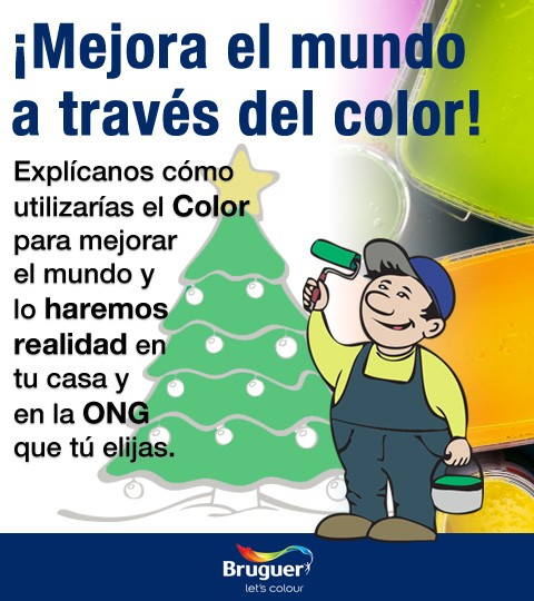 ¡Mejora el mundo a través del Color!