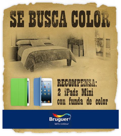 Se Busca Color. RECOMPENSA: 2 iPads Mini