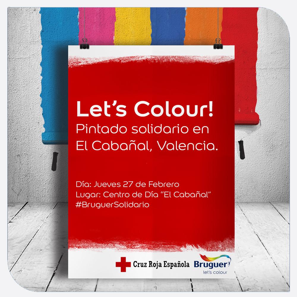 Pintado Solidario en El Cabañal