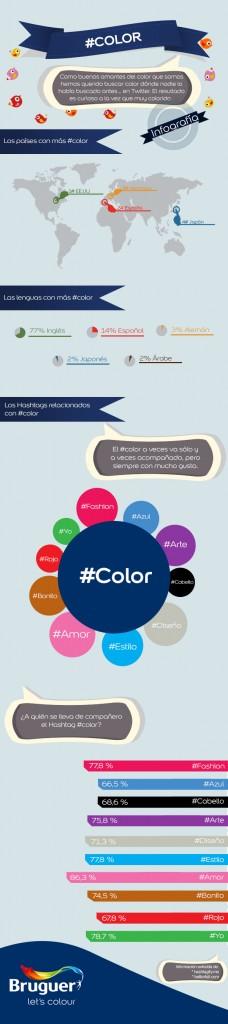 Infografía con mucho #color