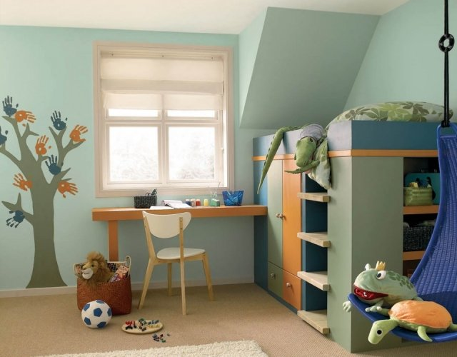 Consejos para pintar dormitorios infantiles - Decoracion con pinturas en paredes ...