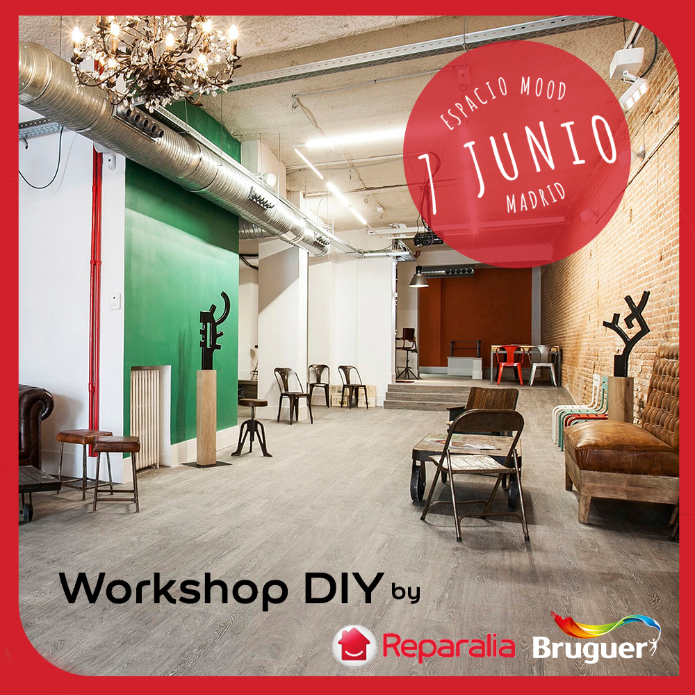 Workshop DIY en Madrid con Reparalia