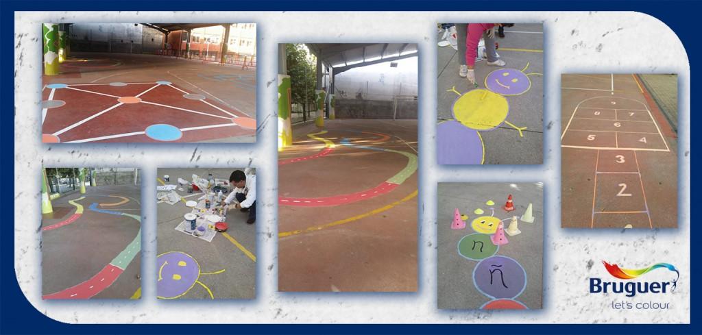 Dando color al colegio Navaliegos