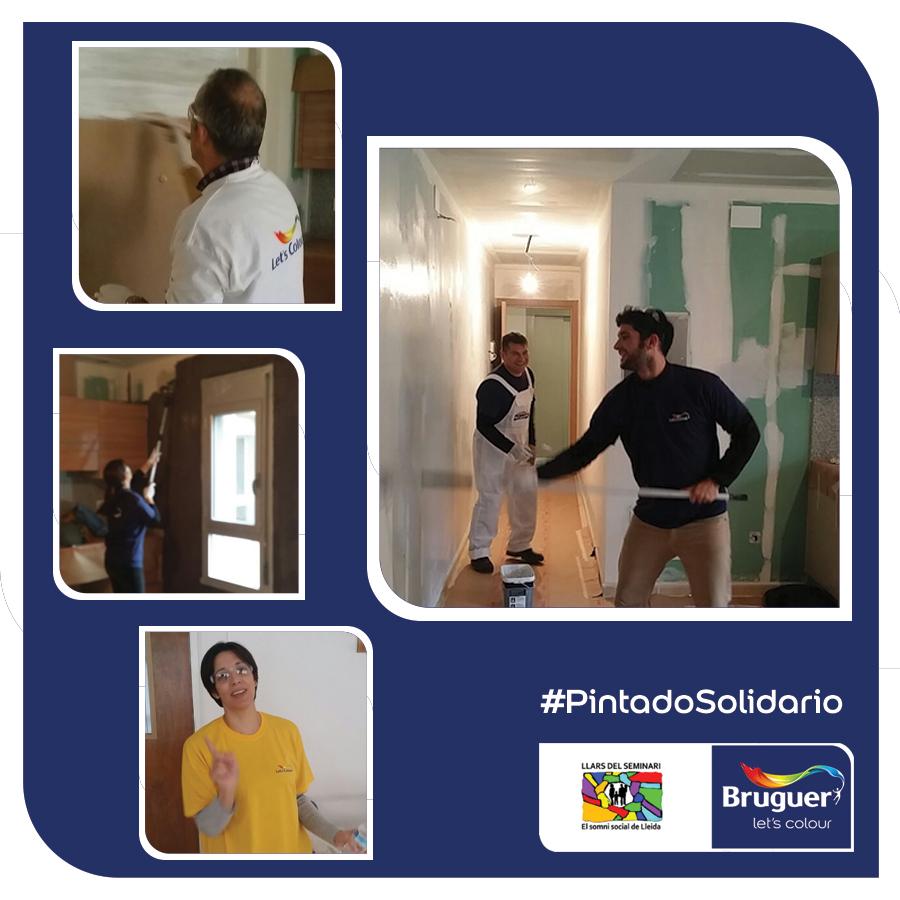 #PintadoSolidario en Lleida