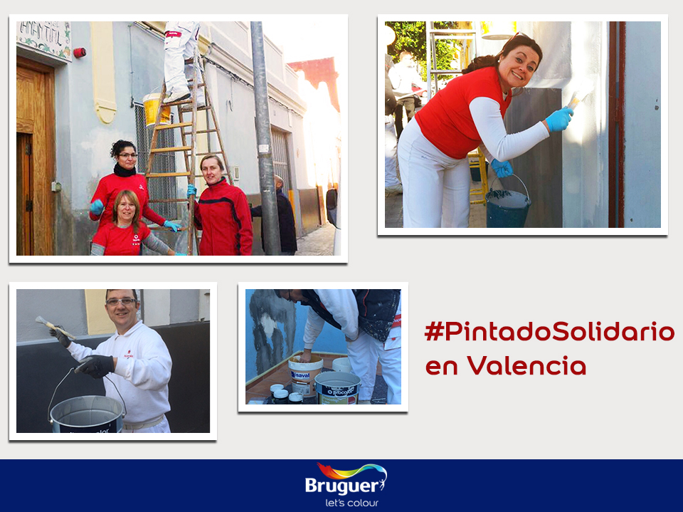 #PintadoSolidario en Valencia