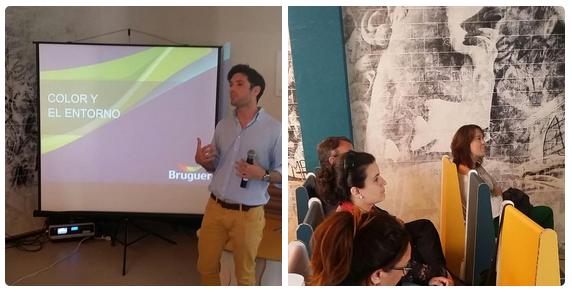 Imágenes de nuestra charla en el BHD.