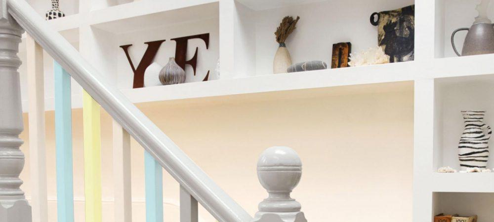 Cómo pintar escaleras y barandillas